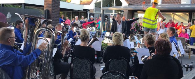 Brassband Halleluja in Concert bij Recreatiecentrum De Eikenhof