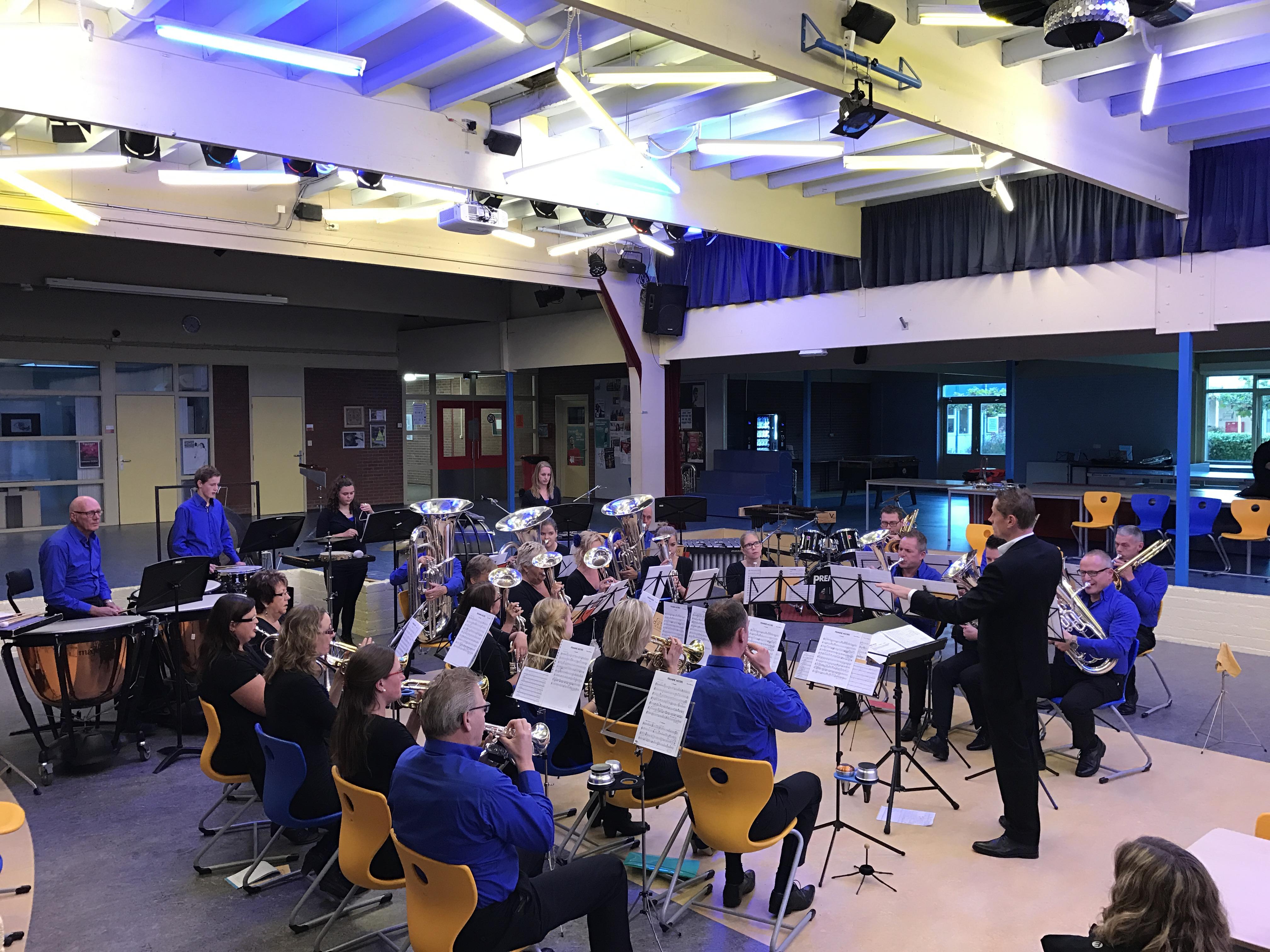 Try-out concert in Buitenpost ter voorbereiding op Concertconcours
